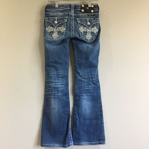 Miss Me | Bootcut Embellished Jeans Cross 10